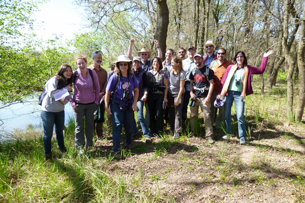 Fellows at TNC's Cosumnes River Preserve