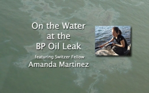 On the Water at the BP Oil Leak